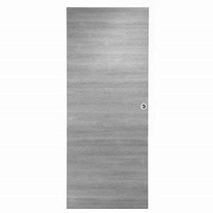 Porte Interieur Grise : porte seule summa gris clair castorama ~ Mglfilm.com Idées de Décoration