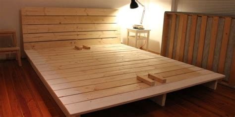 diy platform beds   easy  build home