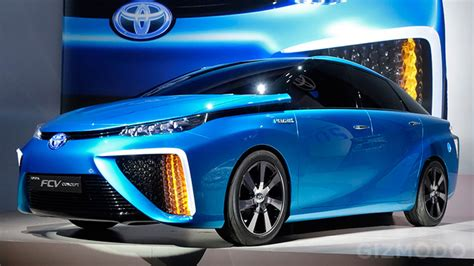 Water Vapour Will Be The Only Emission From Toyota's New