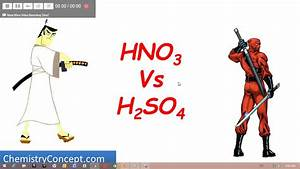 Which One Is Stronger Acid  - Hno3 Vs H2so4