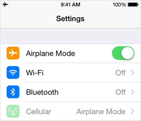 airplane mode iphone use airplane mode on your iphone or ipod touch