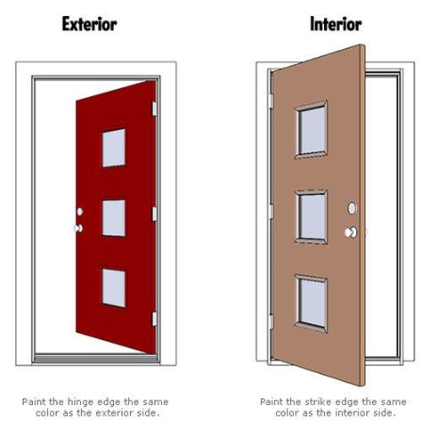 crestview doors how to paint your door two colors