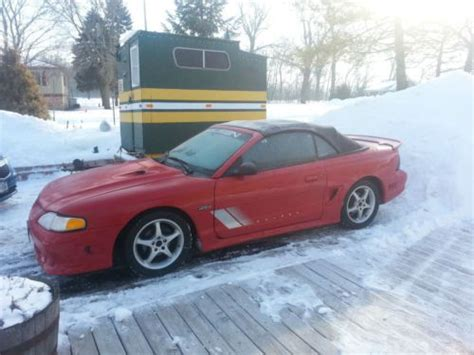 Sell Used 1997 Genuine Saleen Mustang Gt Convertible S281