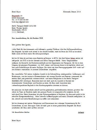 sample cover letter  internship  germany  resume