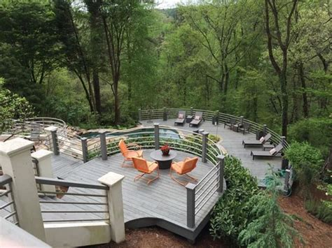 25 best ideas about hillside deck on sloped
