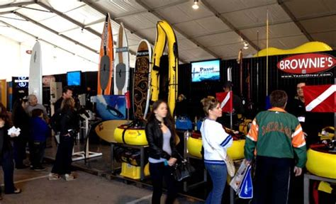 Boat Show Booth Ideas by Brownies Third Lung News Events Boat Shows