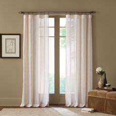 Bed Bath And Beyond Sheer Linen Curtains by 1000 Images About Curtains On Window Panels