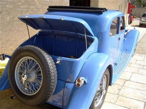 Type 57s were built from 1934 through 1940, with a total of 710 examples produced. 1934 Bugatti T57 CV