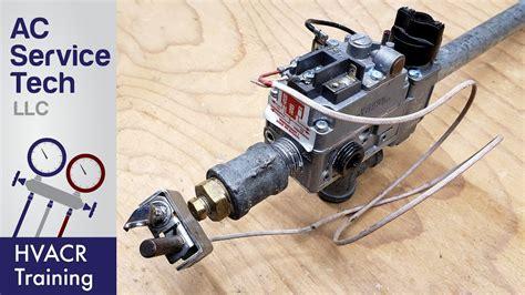 750 millivolt gas valve thermopile wiring wiring diagram youtube