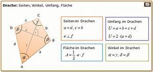 Trigonometrie Seiten Berechnen : drachenviereck berechnen online umfang fl che diagonale ~ Themetempest.com Abrechnung