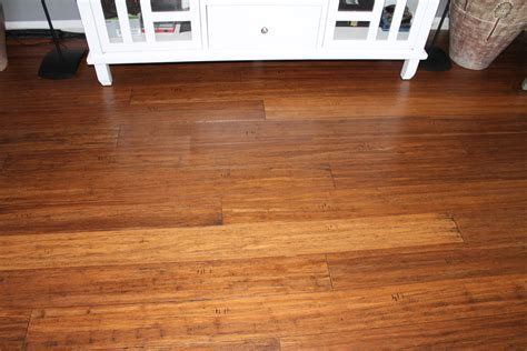 Beautiful bamboo floors!