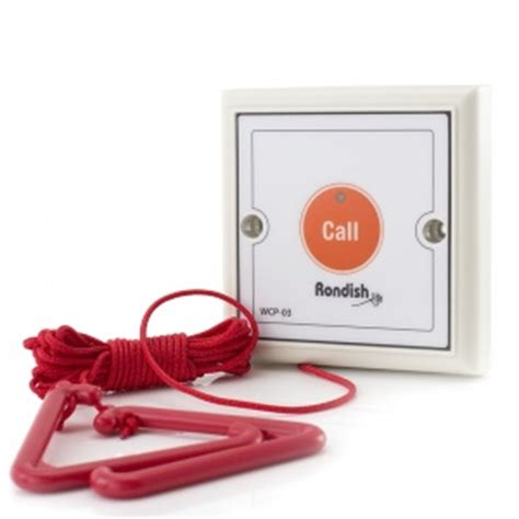 wireless reset button for pull cord transmitter sports supports mobility healthcare products