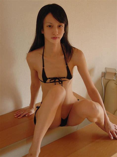 Asian Teen Aura In Micro Bikinis Adult Picture Img
