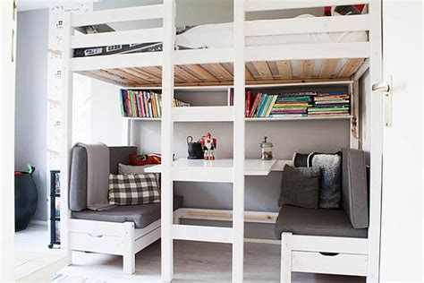 loft beds with desks underneath 30 design ideas with
