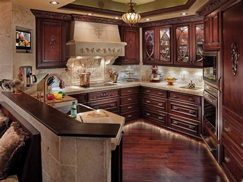 Decorating Ideas For Kitchen With Cherry Cabinets by Cherry Kitchen Cabinets Pictures Options Tips Ideas