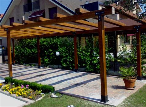 costruire un terrazzo come costruire un pergolato idee green