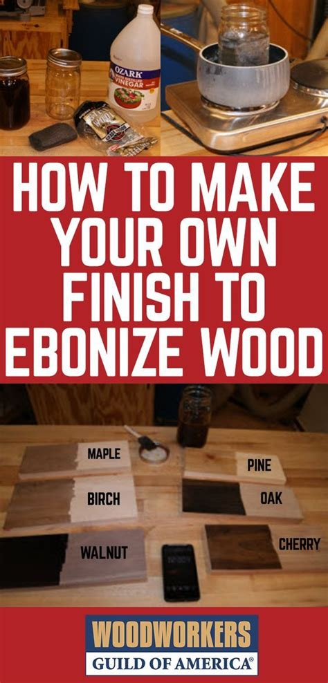 ebonizing wood woodworking cool woodworking projects