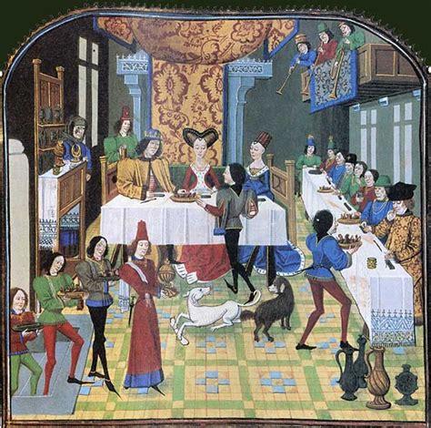 un banquet de noces au moyen 194 ge