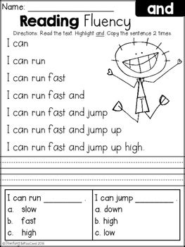 Free Reading Fluency And Comprehension (set 1)  School Ideas  Pinterest  Free, Literacy And