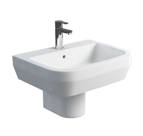Britton Curve S30 600mm Wash Basin And Round Semi Pedestal. Concrete Dining Room Table. Unique Kids Rooms. Great Colors For Living Room Walls. Laundry Room Wall Stickers. Minimalist Interior Design Living Room. Designer Bridal Room. Room Darkening Curtains For Kids. Room Zoom Game