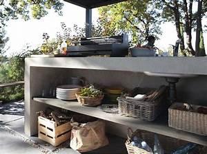 plan de travail exterieur debpaper With plan de travail pour cuisine exterieure