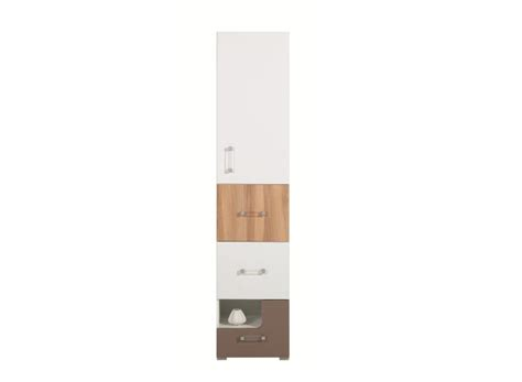 meuble colonne chambre colonne de rangement pour chambre enfant avec 3 tiroirs