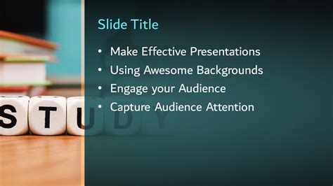 Free Study PowerPoint Template - Free PowerPoint Templates