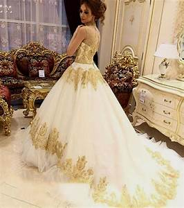 White And Gold Wedding Dress Gallery - Wedding Dress