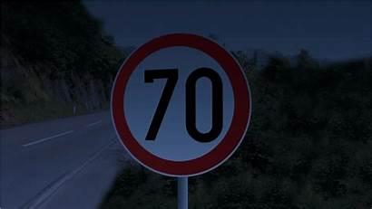 Road Speed Limit Solar Led Signs Street
