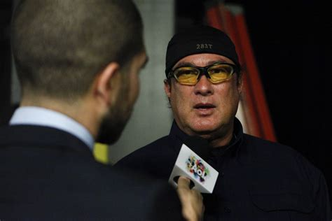 siege mma steven seagal says chael sonnen had 39 extremely unfair