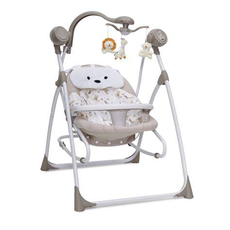 swing electric electric baby bouncer swing cangaroo swing beige