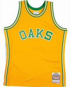 1968 Oakland Oaks Swingman Jersey Shop Mitchell Ness