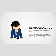 Ready Steady Go Business Analogy Slides For Powerpoint Slidemodel