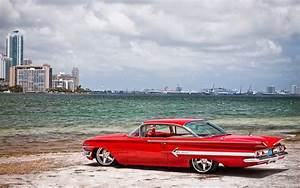 Red Chevrolet Impala Old-school wallpapers | Red Chevrolet ...