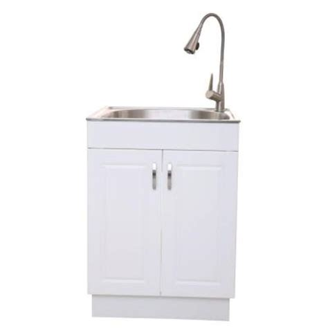 Utility Sink In Cabinet by Glacier Bay Presenza All In One 25 98 In X 22 83 In X 31