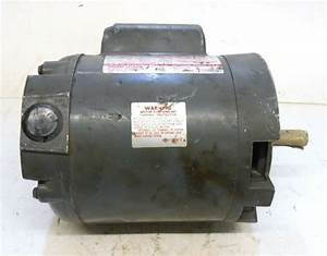 Dayton Capacitor Start Motor  6k974c  1  4 Hp  Rpm 1725
