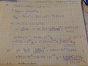 Masse Berechnen : masse neutronen masse einer neutronenkugel berechnen nanolounge ~ Themetempest.com Abrechnung