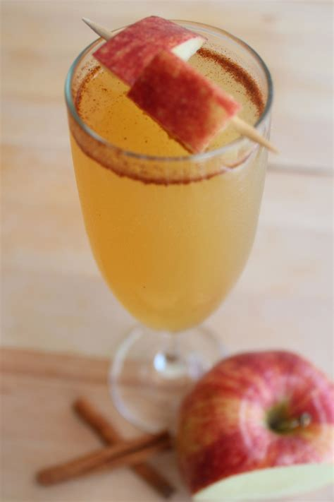 apple cider punch apple cider chagne punch fall fun pinterest