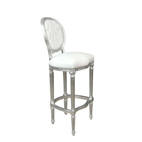 chaises baroque chaise baroque de bar blanche meuble baroque