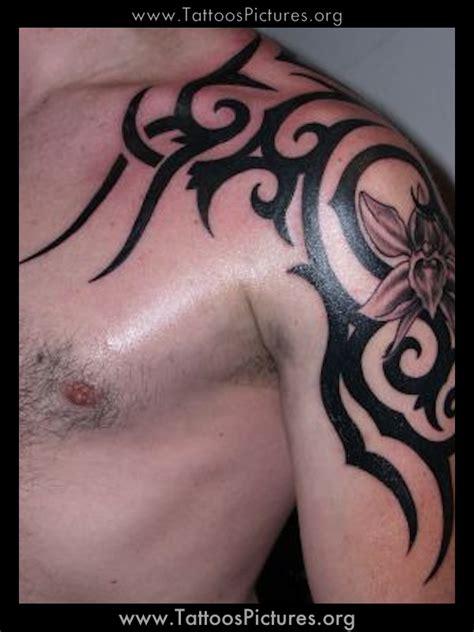 tribal tattoos  men shoulder  arm great tattoos