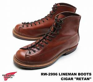 Red Wing Shoes France : premium one rakuten global market red wing 2996 lineman redwing 2996 linemen cigar retan ~ Melissatoandfro.com Idées de Décoration