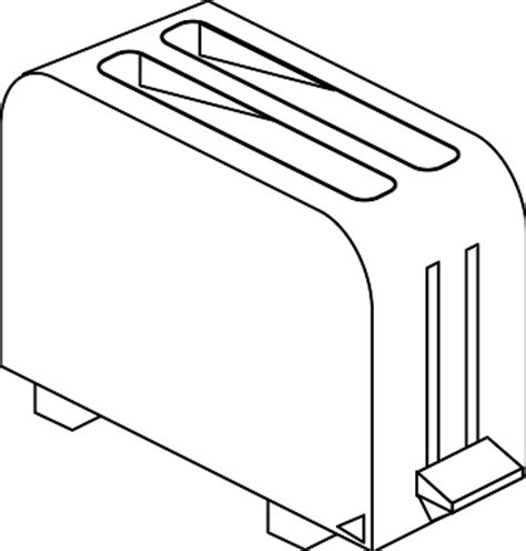 Black And White Toaster by Stegosaurus Clip Black And White Clipart Panda