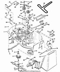 Poulan Pp12r38mi Tractor Parts Diagram For Mower Deck