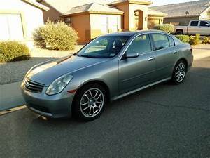 2005 Infiniti G35 Sedan Manual Transmission For Sale