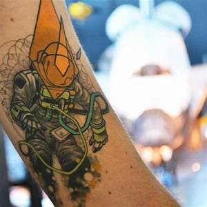 Astronaut Tattoo Tumblr - Pics about space