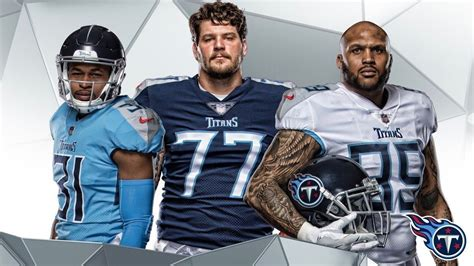 The Tennessee Titans Unveil Their New Set Of Uniforms