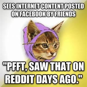livememe.com - Hipster Kitty