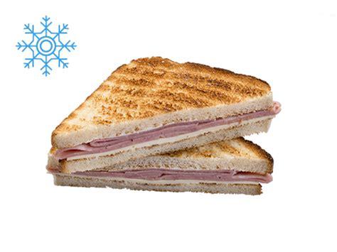 ham canapes cater line cong1 sandwich mixto tostado calentar