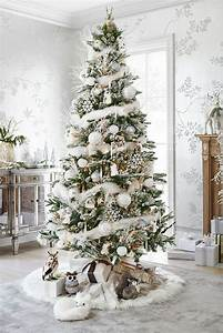Christmas Tree Decoration Ideas: Snow Inspiration · All ...