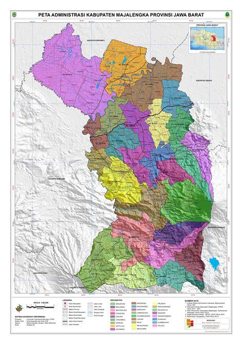 administrasi kabupaten majalengka peta tematik indonesia